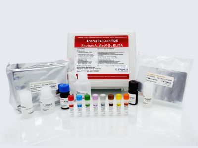 Tosoh R40 and R28 Protein A Mix-N-Go™ ELISA